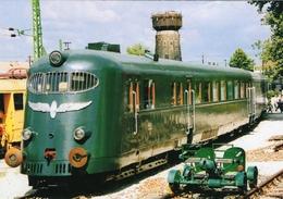 Diesel-Mechanical Triebwagen Baureihe Hargita MAV 47 Of Ungarische Staatsbahnen 2004   -  CPM - Trains
