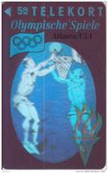 DENMARK - Atlanta 1996 Olympics, Basketball(3D Card), Tirage 11000, 08/93, Mint - Danimarca