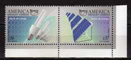 Uruguay 2006 America UPAEP - Save Energy.saving Solar.MNH - Uruguay