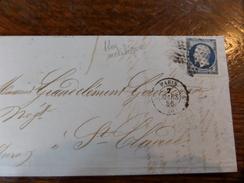 Liquidation Collection Paris Sur N°14 ,a Voir!! Nuance Et Variété.etoile - 1853-1860 Napoléon III.