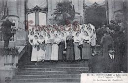 (87) Poincaré à Limoges 1913 - Le Choeur Des Barbichets - 2 SCANS - Limoges