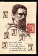 1941 URUGUAY ART PAINTING BLANES MAXI CARD MAXIMUM POSTCARD SOTO EDITOR