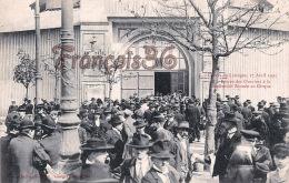 (87) Grèves De Limoges Avril 1905 - Entrée Des Ouvriers à La Conférence Donnée Au Cirque - 2 SCANS - Limoges