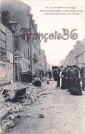 (87) Les Troubles De Limoges - Rue De La Mauvendière En Face L' Usine Faure Après Manifestation 17 Avril 1905 - 2 SCANS - Limoges