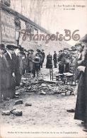 (87) Les Troubles De Limoges - Restes De La Barricade Rue De L' Amphithéâtre 17 Avril 1905 - 2 SCANS - Limoges