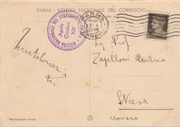 10876-PARMA-MOSTRA NAZIONALE DEL CORREGGIO-1935-FG - Manifestazioni