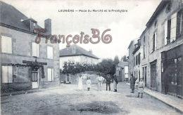 (87) Laurière - Place Du Marché Et Le Presbytère - 2 SCANS - Lauriere