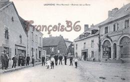 (87) Laurière - Avenue De La Gare - 2 SCANS - Lauriere