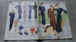 Catalogue Ancien Au Bon Marché Paris 1936  Toilettes  Mode Femmes Enfants - Mode