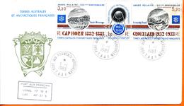 TAAF ; 1983 ;enveloppe ; Kerguelen ; Année Polaire - Terres Australes Et Antarctiques Françaises (TAAF)