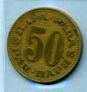 1965  50 PARA - Yougoslavie