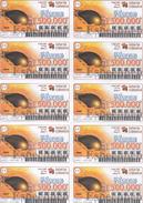 BILLETS DE LOTERIE - LOTTERY TICKETS - PORTUGAL - 2007 - PÂQUES - ESPECIMEN - RARE - Altre Collezioni