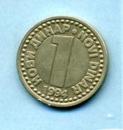 1994  1 DINAR - Yougoslavie