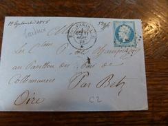 Liquidation Collection Paris Sur N°14 ,a Voir!! Nuance,et Variété.lettre E - 1853-1860 Napoleon III