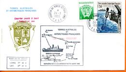 TAAF ; 1995;enveloppe ; Kerguelen; - Terres Australes Et Antarctiques Françaises (TAAF)