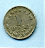 1965  1 DINAR - Yougoslavie