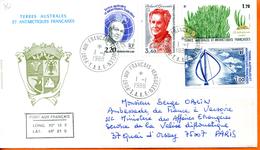 TAAF ; 1988;enveloppe ; Kerguelen; - Terres Australes Et Antarctiques Françaises (TAAF)
