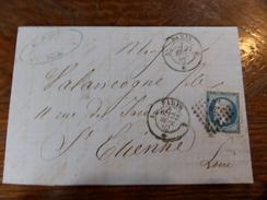 Liquidation Collection Paris Sur N°14 ,a Voir!! Nuance,et Variété.lettre A - 1853-1860 Napoléon III.