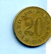 1981  20 PARA - Yougoslavie