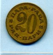 1965  20 PARA - Yougoslavie