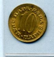 1965  10 PARA - Yugoslavia