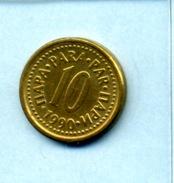 1990  10 PARA - Yugoslavia