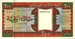 MAURITANIE 200 OUGUIYA Du 28-11-1996 Pick 5g  UNC/NEUF - Mauritanie