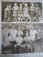 Militaria W1 , Nouveau Aspect Des Soldats Britanniques 1915 - Documents Historiques