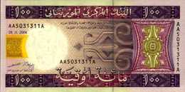 MAURITANIE 100 OUGUIYA Du 28-11-2004  Pick 10a  UNC/NEUF - Mauritanie
