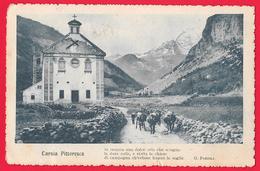 CARNIA PITTORESCA - POESIA - UDINE - OSPEDALETTO DA CAMPO 53 - POSTA MILITARE - War 1914-18