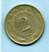 1974 2 DINAR - Yougoslavie