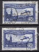 FRANCE  1927 / 1930 - Y.T. N° 6 X 2 TP  - OBLITERES.. FD613 - 1927-1959 Afgestempeld