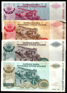 Croatia 5000 To 500000 DINARA (Knin) 1994 P R20-26 4 PCS CIRC. ( Croatie , Kroatien , Croazia , Croacia ) - Croatia