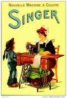 SINGER /LOT 1240 - Publicité