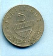 1969 5 SCHILLING - Autriche