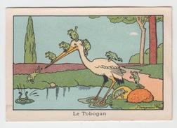 CHROMO LA BLEDINE JACQUEMAIRE / LE TOBOGAN Illustré Par BENJAMIN RABIER - Chromos