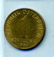 1988 1 SCHILLING - Autriche