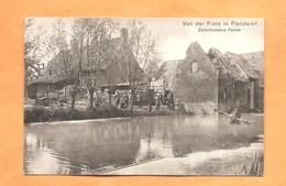 1914 1918 Postkaart Von Der Front In Flandern Zerschossene Ferme Feldpostkarte - War 1914-18