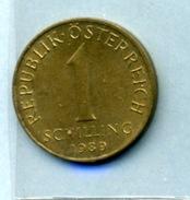 1989 1 SCHILLING - Autriche