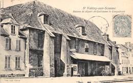 80-SAINT-VALERY-SUR-SOMME- MAISON DE DEPART DE GUILLAUME LE CONQUERANT - Saint Valery Sur Somme