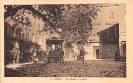83 - VAR / Cuers - La Mairie Et La Place - Beau Cliché Animé - Cuers