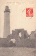 POINTE SAINT MATHIEU ( 29 ) Le Phare Et Les Ruines ( Port Gratuit) - Autres Communes