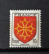 YT603 - Armoirie Languedoc- Neuf Charniere - Ongebruikt