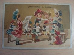 Chromo La Leçon De Chant CHICOREE C. BERIOT - Thee & Koffie