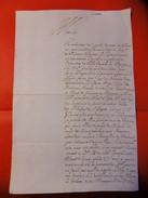 LETTRE 1651 GUERRE DES FLANDRES / DE BRUXELLES /  NOMBREUX PERSONNAGES HISTORIQUES CITES TRES RARE - Postmark Collection (Covers)