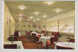 Cpm St002728 Salle à Manger  Dirigeable Hindenbourg Hindenburg Lz 129 - Airships