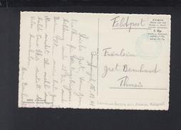 Schweiz AK Mönchsjoch Feldpost Mit Grünem Lavinenkurse Der Armee 1940 - Militaire Post
