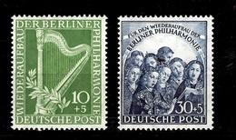 Berlin YT N° 58/59 Neufs ** MNH. TB. A Saisir!
