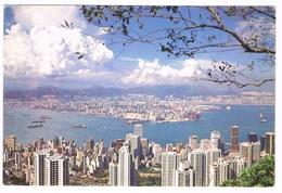 ASIA-1117   HONG KONG : Hong Kong And Kowloon From The Peak - China (Hong Kong)