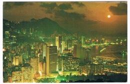 ASIA-1119   HONG KONG : Beautiful Dusk Scene Of Victoria - China (Hong Kong)